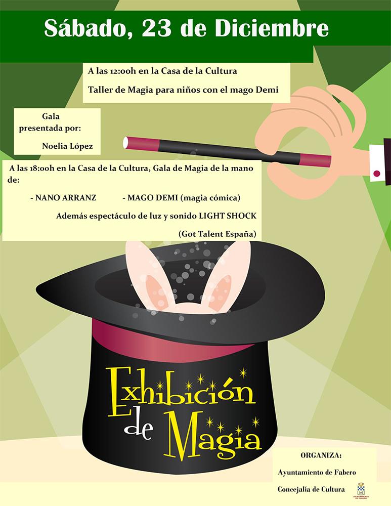 Fabero organiza una gala de magia con el Mago Demi, Nano Arranz y el espectáculo Light Sock, participantes de Got Talent 2